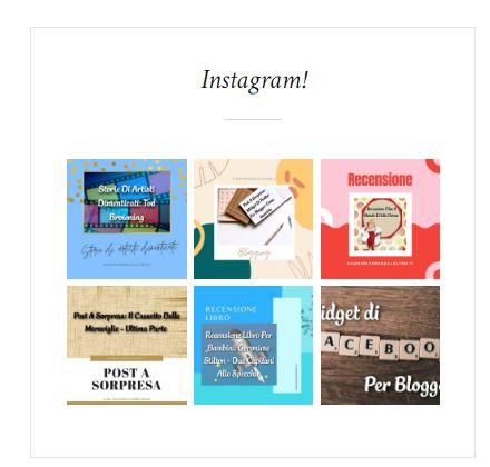 Widget Instagram